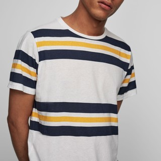 白菜党 : PULL&BEAR 05237595 男士纯棉T恤