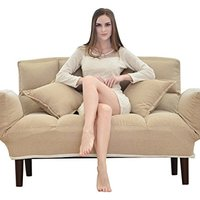 LEAUN 乐昂 LA-GF 可折叠双人布艺沙发床