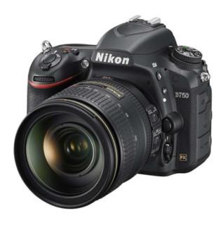 Nikon 尼康 D750 AF-S 24-120mm F/4G ED VR镜头 单反套机