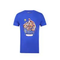 NBA 2017年金州勇士队西部冠军纪念短袖T恤衫