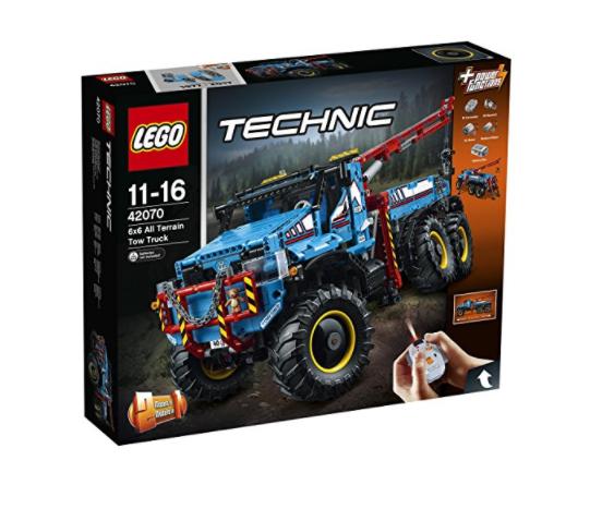 LEGO 乐高 2017科技系列 42070 6X6全时驱动牵引卡车