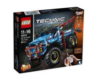 考拉海购黑卡会员:LEGO 乐高 科技系列 42070 6X6全时驱动牵引卡车