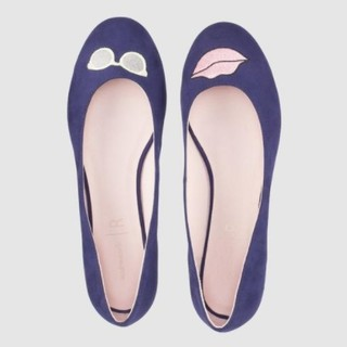 Mademoiselle R 红唇平底鞋
