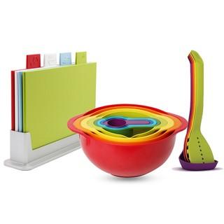 8日0点 : Joseph Joseph 经典彩虹烹饪 礼盒装三件套