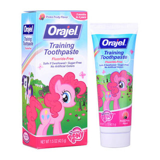 Orajel 欧乐 小马宝利 无氟可吞咽牙膏 水果味 42.5g