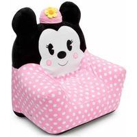 DELTA 迪士尼米妮图案 儿童绒布充气沙发