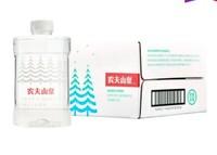 农夫山泉 饮用水 饮用天然水(适合婴幼儿) 1L*8瓶 整箱装