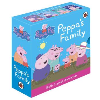 《Peppa's Family 小猪佩奇 英文原版》(套装共4册)