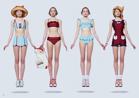 识衣间 VOL.65:泳衣选得巧妙,自带P图功效——没有超模身材,一样穿得精彩