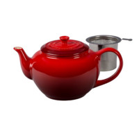 Le Creuset 茶水壶  樱桃色 1 夸脱