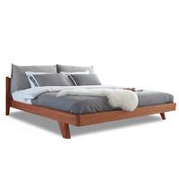 斯蒂朗 B26 胡桃木实木床 1.8米款