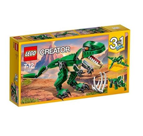 LEGO 乐高 Creator3合1创意百变系列 31058 凶猛霸王龙
