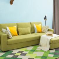 QMLIVE 曲美·领物 16LW-S15 小户型麻棉沙发