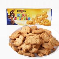 临期品、至10月 : QUICKBURY 捷百瑞 愉快动物曲奇饼干 125g*3盒