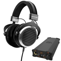 beyerdynamic 拜亚动力 DT990 头戴式耳机 600欧姆+iFi micro iDSD BL 解码耳放一体机