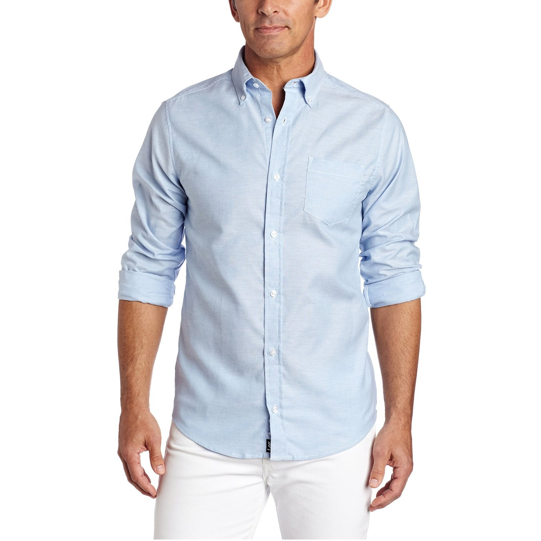 Lee 李 Uniforms 男款衬衫 浅蓝色 S