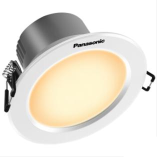 Panasonic 松下 逸放系列 NNNC75090 金属筒灯 3W 白框 4000K