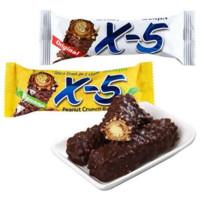 三进   X-5 香蕉花生牛奶夹心巧克力棒 144g*3盒