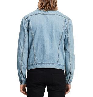 Calvin Klein Jeans Rinse Wash Denim Trucker 男士牛仔外套 Rinseindigo S