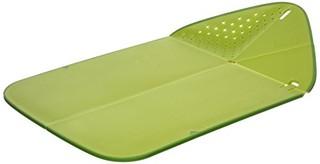 中亚prime会员:Joseph Joseph 创意折叠砧板 绿色款 *2件