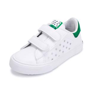 WARRIOR 回力 儿童小白帆布鞋 *8件