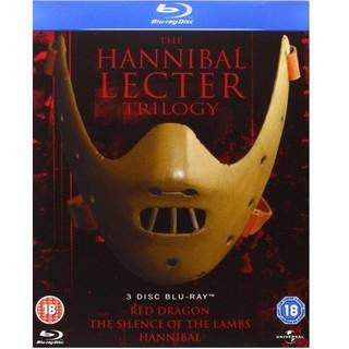 《The Hannibal Lecter Trilogy》 汉尼拔三部曲  蓝光套装(全区、中字)
