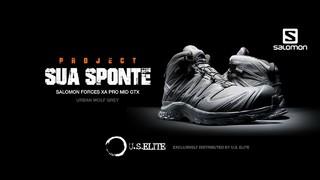 SALOMON 萨洛蒙 FORCES  'SUA SPONTE'特别版 XA PRO 3D MID GTX 男款战术户外靴