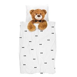 Snurk 泰迪熊全棉单人被罩枕套 150*200cm