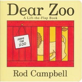 Dear Zoo: A Lift-the-Flap Book  趣味动物园立体翻翻书 英文原版