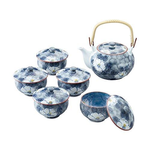 RANCHANT 一珍山茶花 带盖茶具套装 ( 6件套)