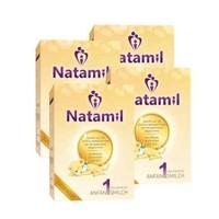 Natamil 婴幼儿配方奶粉1段 800g*4盒