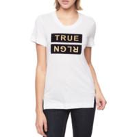 TRUE RELIGION 真实信仰 女士短袖T恤