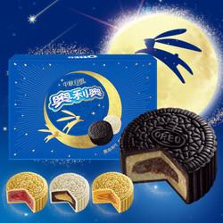 OREO 奥利奥 中秋月饼礼盒装 4味6块 480g *2件 +凑单品