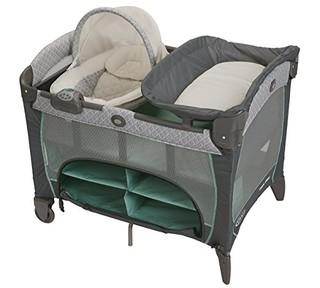 GRACO 葛莱 Pack 'n Play 多功能婴幼儿游戏床/尿布更换台+摇篮摇椅