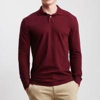 凑单品 : AÉROPOSTALE 男士长袖polo衫(4色可选)