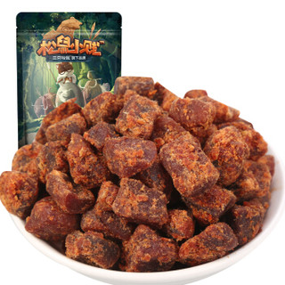 三只松鼠 肉干肉脯 零食香辣味小贱牛肉粒110g/袋