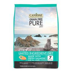 CANIDAE 卡比 无谷系列 元素鲜三文鱼全猫粮 10磅 *2件