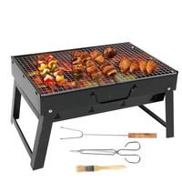 摩家优品 折叠烧烤架烧烤炉烤具 户外烧烤 便携(食品夹、刷子、烤叉) GKJ—07