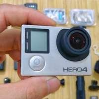 GoPro HERO4 Silver 运动摄像机 + 飞宇GS4手持稳定器青春版 + 若干配件