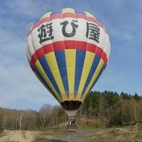 北海道富良野 热气球体验