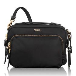 TUMI 途明 Voyageur系列 484783D 女士纯色单肩斜挎包 黑色