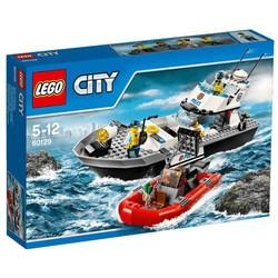 LEGO 乐高 CITY 城市系列 60129 警用巡逻艇