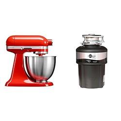 KitchenAid 凯膳怡 4QT 3.3L MINI 厨师机 + ISE 爱适易 m50+ 垃圾处理器