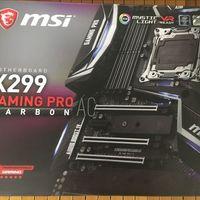 MSI/微星 X299 GAMING PRO 2066针脚 主板