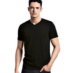 Gracebox 阅微雅集 机洗100次不变形 supima长绒棉 男式 V领 短袖T恤 gb100
