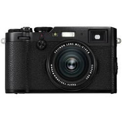 富士(FUJIFILM)X100F 数码旁轴相机 黑色 人文扫街 2430万像素 混合取景器  X100T升级版