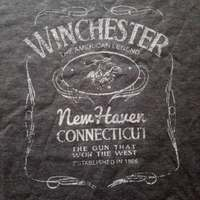 Winchester  温切斯特 牛仔火枪手T恤