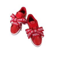 PUMA 彪马 Basket Heart 364082-03 女式蝴蝶结运动鞋