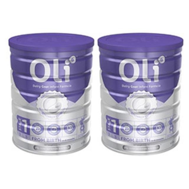 Oli6 婴幼儿配方羊奶粉 1段 800g*2罐