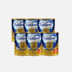 Aptamil 爱他美 金装婴儿配方奶粉 1段 900g *6罐